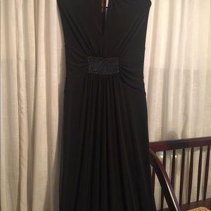 Long halter dress size L